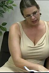 MILF teacher\'s hottest handjob of all time
