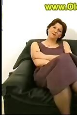 Mommy in a sexy dress gets fucked by her son