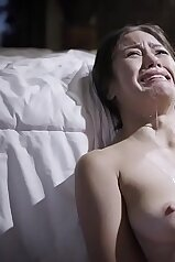 cocks, babe, brunette, so cute, daughter, deep throat, father, humiliated