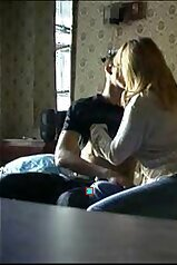 Hidden cam fuck scene with a seductive redhead