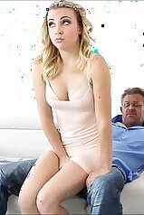 cocks, big cock, blond, caught, daddy, daughter, family porn, fingered