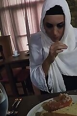 Hungry Arab Woman Fucks For Food and Shelter Taboo