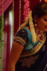 Nandhini Serial Nithya Ram Hot Seducing Moves with Show