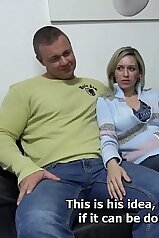 Amateur married lady steps out on her kinky hubby