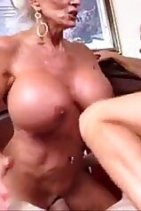 Mommy and granny take turns with a hard cock