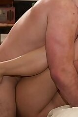 Deep penetration in a scene with a hot brunette