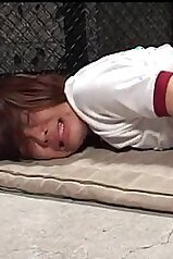 Screaming Asian beauty gets pounded on all fours
