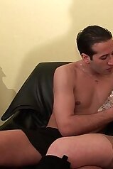 BBW mommy from France gets frisky with her boy