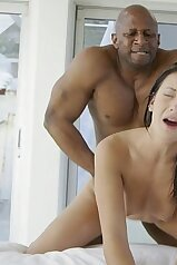 Teenage beauty CRYING FOR REAL during IR sex