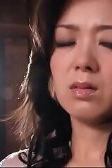 Beauty Japanese MILF with huge lips likes her boyfriend