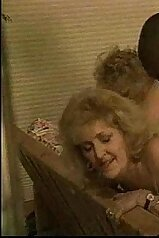 Very old chick and a horny black lover have sex